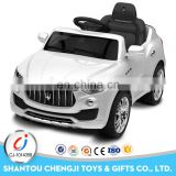 Hot fashion newest design battery kids ride on remote control power car