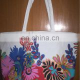 Cotton Canvas Printed Bag