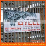 custom PVC outdoor hanging street banner