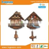 Souvenir Germany tourism resin magnets personalized custom 3d wooden Cuckoo Clock resin fridge magnet