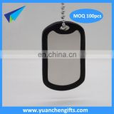 Custom metal blank dog tag Aluminum Anodized dog tag / Promotional tags