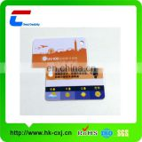 plastic pvc uv test card