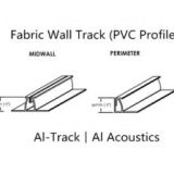 Al-Track: Fabric Wall Track (PVC Profile)