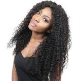 16 18 20 Inch Curly Human Hair Wigs Soft Brazilian