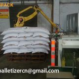 Hennopack fully automatic Corn starch, feed, cement, titanium powder, flour, rice Bag Robot Palletizer