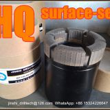 HQ surface-set diamond core drill bits, exploration drilling bit, rock coring, geotechnical drilling bits