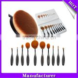 Wholesale Professional Private Label Makeup Brush with 10 Piece Cosmetic Makeup Brush Set