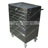 Ball bearing 7 drawers steel tool box on wheels AX-1031a