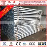 Construciton heavy duty support scaffolding shoring props system ( Real Factory in Tianjin )