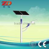 Customized solar Led street light with pole 5-12m IP65 CE ISO approved manufacture price