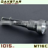 DAKSTAR MT16C XML T6 1015LM 18650 Rechargeable Superbright Hunting CREE Aluminum Tactical Flashlight