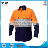 Safety yellow oil field real work wear uniform