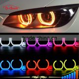 Super bright flat bottom crystal angel eyes for bmw e36