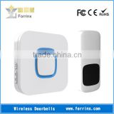 FORRINX Hello Welcome Wireless Doorbells 52 Sound 300m Range AC/DC Powered Chime Waterproof Button