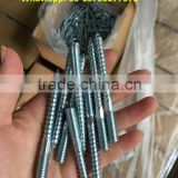Steel Double threaded screw zp