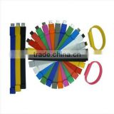 Colorful silicon bracelet usb flash drive,custom rubber usb flash drive,wristband usb flash memory,free samples