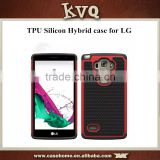 New Products 2 in 1 Hybrid TPU + Silicone Mobile Phone Case For LG Nexus 5X