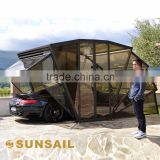 INQUIRY about Sunsail-box Solar Energy Folding Car Garage