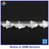 Australia Nature White Hand Shape Mother of Pearl MOP Shell Gemstone For Wedding Dresses 2014