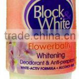 Block&White Deodorant Flower Bath