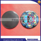 Promotion custom 4 color process printed round fridge magnet                                                                         Quality Choice