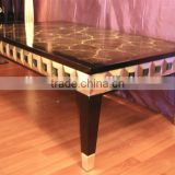 Classical gold carving coffee table for living room C1103