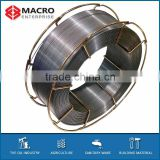 Hardfacing chute welding wires with high quality