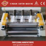 2ply paperboard making machine/vacuum type single facer/corrugated single facer