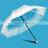 Hot sale Leading Manufactory of High Quality Bumbershoot promotional transparent clear umbrella
