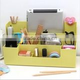 2015 NEW plastic DIY multifunction separate combination cosmetics toy stationery storage rack