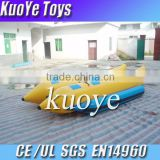 heavy duty 0.9mm pvc tarpaulin banana boat,8person banana boat,inflatable water banana boats