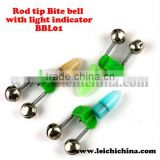 Fishing rod bite bell with light indicator BBL01 fishing tool