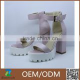 Factory high quaility fashion women high heeled sandal shoes high platforms sandal shoes for ladies                                                                                                         Supplier's Choice