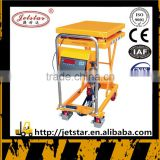 Customized Mobile Battery Hydraulic lifting trolley trucks for sale