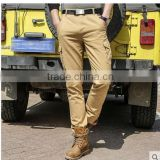 Mens joggers Overall men's casual pants pocket loose trousers movement long straight outdoor clothing