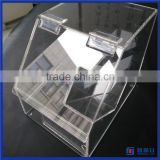 First hand factory bulk food storage container for nuts, cereal, grain, candy / acrylic cereal dispenser                                                                         Quality Choice