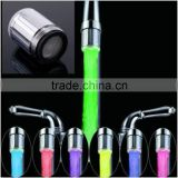 1pcs LED Shower chuveiro Water Faucet 7 Colors Colorful Light Changing Glow Stream Tap Spraying Head bathroom accessories