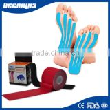 Trending hot products factory 5cm x 5m K therapy Cotton muscle sports tape multicolored Kinesiology Tape