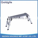 Goldgile high quality SGS folding step aluminum /Folding Aluminium Ladder/Aluminum Ladder