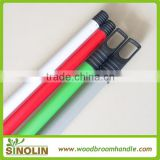 SINOLIN metal handle coated pvc,metal handle & pipe & stick,cleaning tool pvc coated wood handle