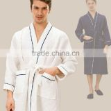 New style plain dyed hotel bath robe waffle spa bath robe for 3-5 star hotel                                                                         Quality Choice