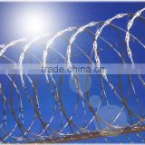 Direct factory stainless steel razor wire/galvanized razor wire fencing/cheap razor wire