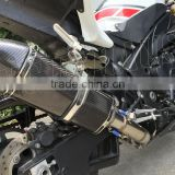 high performance motorcycle slip on Hexagonal Carbon Fiber Muffler for Yamaha R1 09-14