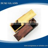 Top quality square wooden eyeglass box/case                                                                         Quality Choice