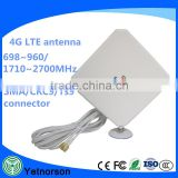 600-2700MHz long range external 4g lte antenna with SMA-Male Connector Signal Amplier 5M Cable for Huawei Router