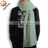 latest design nice custom made digital printing softtextile blanket scarf                                                                         Quality Choice