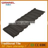 Wanael CE SON ISO certifications customized colors fire proof red roof tile edging for sale
