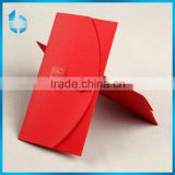 Red iridescent paper envelope bag for wedding invitation card butterfly packing paper bag for wedding invitation cards