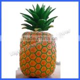 New amusement park ride pineapple ticket cabin with LED light for kids