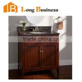 LB-LX2123 Hot selling solid wood bathroom cabinet, cheap bathroom cabinet, bathroom mirror cabinet with light